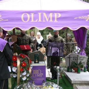 Pogrzeb OLIMP